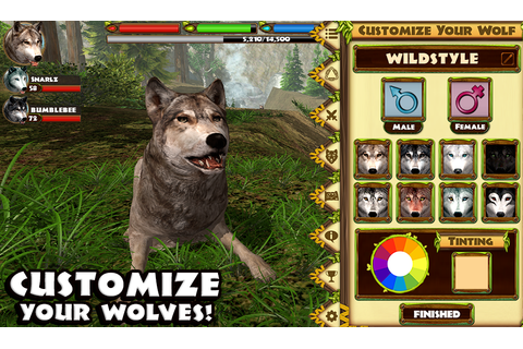 Amazon.com: Ultimate Wolf Simulator: Appstore for Android