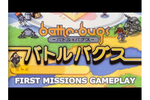 Battle Bugs | バトル・バグス (PS1) - First Missions - YouTube
