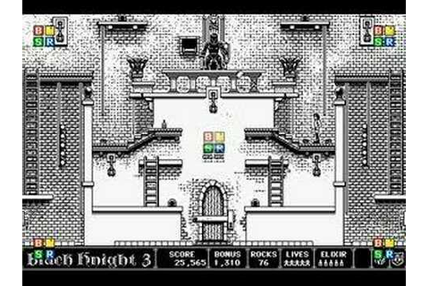 Dark Castle 1986 Mac game - YouTube