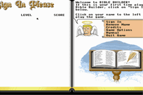 Play Bible Builder Online - My Abandonware
