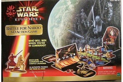 STAR WARS EPISODE I BATTLE FOR NABOO 3-D ACTION GAME | eBay