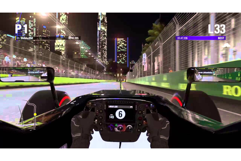 F1 2015 game - PS4 gameplay (cockpit) - McLaren Honda ...