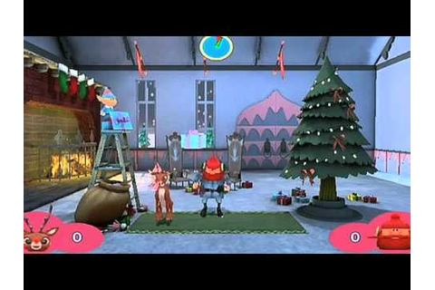 Rudolph The Red-Nosed Reindeer® Wii Game Trailer - YouTube