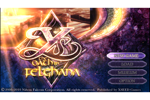 YS The Oath in Felghana PSP CSO Free Download & PPSSPP ...