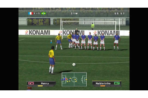 Pro Evolution Soccer 2 (2002) (PlayStation 2) - YouTube