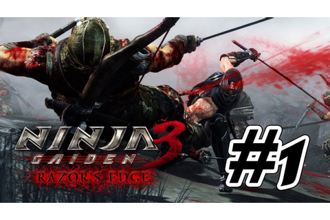 Ninja Gaiden 3: Razor's Edge - Walkthrough Part 1 Gameplay ...