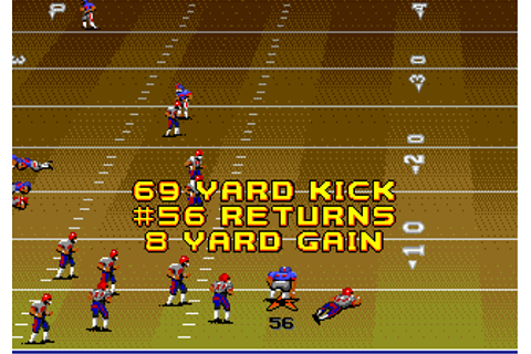 Play John Madden Football '92 Online - Play Sega Genesis ...