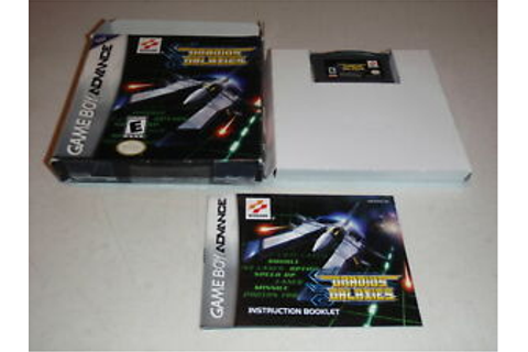 Gradius Galaxies Nintendo Game Boy Advance Game Complete ...
