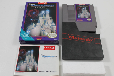DISNEY ADVENTURES IN THE MAGIC KINGDOM - COMPLETE NINTENDO ...