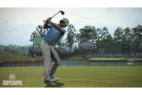 Tiger Woods PGA TOUR 14 Screenshots Putt In