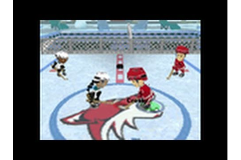 Backyard Hockey Nintendo DS Gameplay - Touch Screen ...