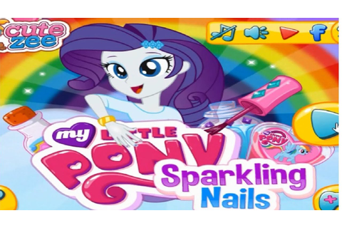 My Little Pony Sparkling Nails Game / MLP Games for Girls ...