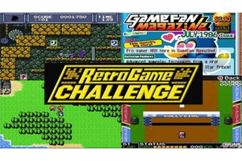 Retro Game Challenge (Video Game) - TV Tropes