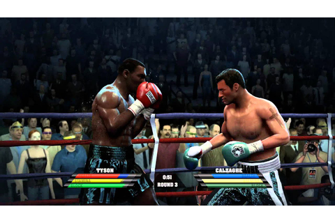 Mike Tyson v Joe Calzaghe Fight Night Round 4 Xbox 360 ...