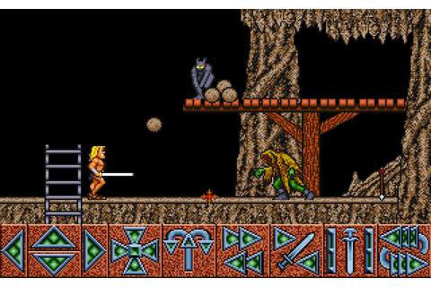 Barbarian (1987) by Psygnosis Amiga game