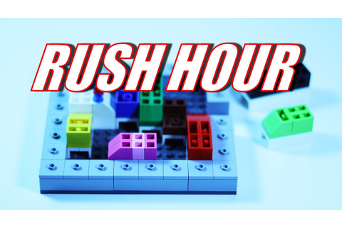 LEGO Rush Hour Game - It's a Fun Traffic Jam Game Puzzle ...