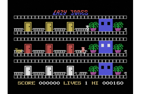 Lazy Jones (1985, MSX, Terminal Software) | Generation MSX