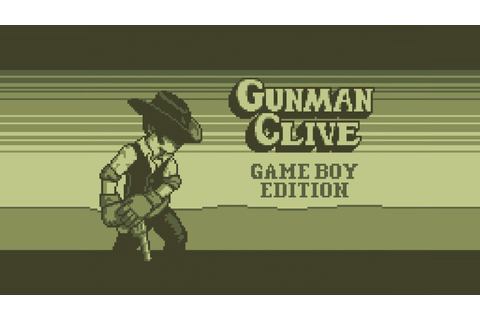 Gunman Clive comes to the Game Boy... sort of - Vooks