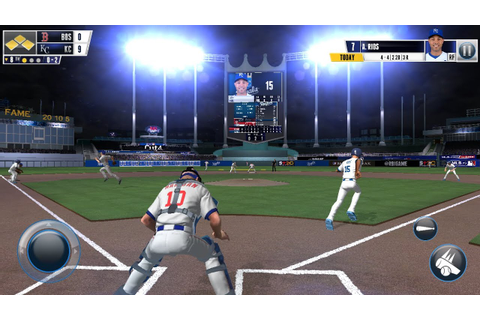 R.B.I. Baseball 2016 Android | I play Like a NOOB | Real ...