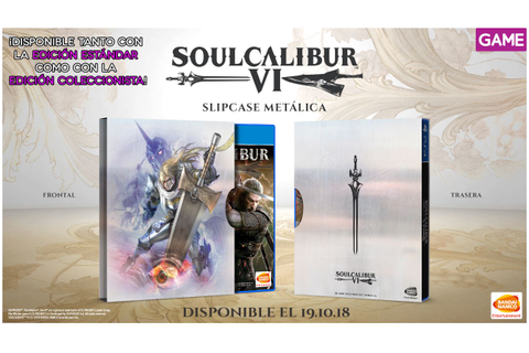 SoulCalibur VI con regalo exclusivo de reserva en GAME ...