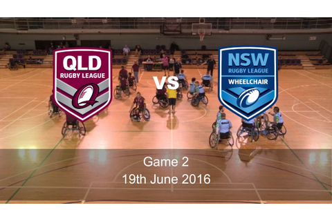2016 Lendlease Wheelchair Rugby League Interstate ...