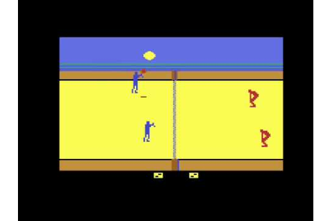 RealSports Volleyball for the Atari 2600 - YouTube