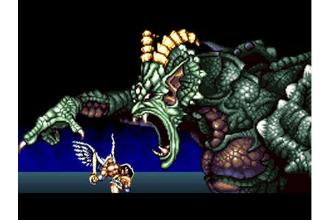 ActRaiser 2 (SNES) All Bosses (No Damage) - YouTube