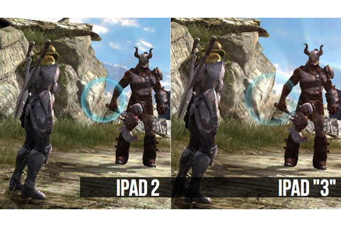 Infinity Blade II Running On iPad 2 And iPad '3' | Kotaku ...