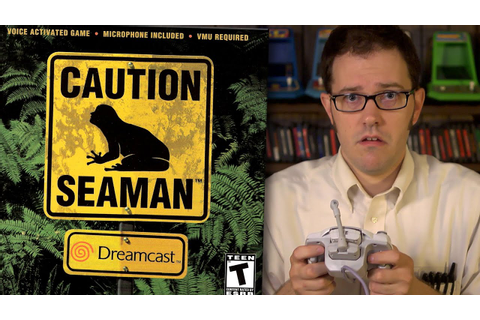 Seaman for Dreamcast - Angry Video Game Nerd - Episode 136 ...