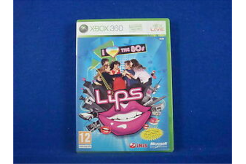 xbox 360 LIPS I LOVE THE 80'S Solus Game - REGION FREE ...