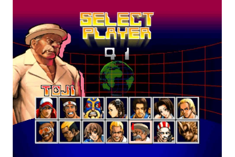 Fatal Fury Wild Ambition All Character Select - YouTube