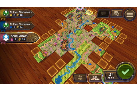 Carcassonne - Digital Board Game - YouTube