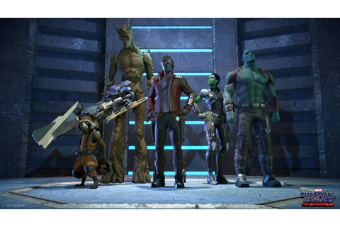 First Images and Voice Cast of Telltale's Guardians of the ...