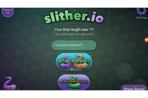 I need some new games,slither.io gameplay