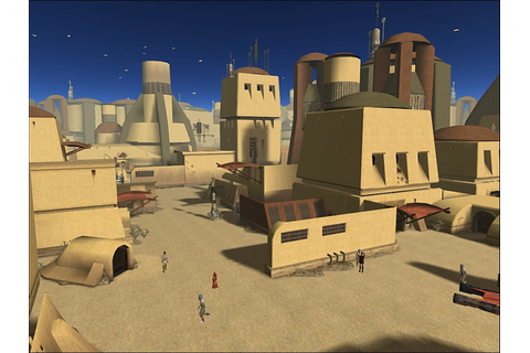 Star Wars: KotOR - Tatooine, Anchorhead Minecraft Project