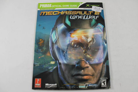Mechassault 2: Lone Wolf Official Game Guide - Prima Games