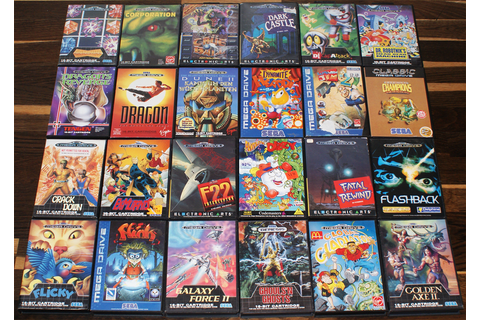 Sega Mega Drive – Retro Video Gaming