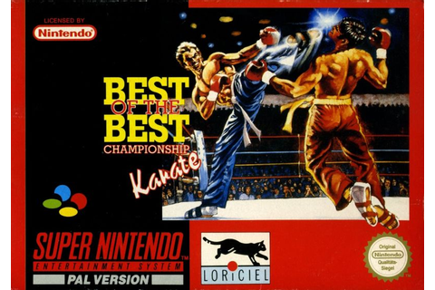 Best of the Best Championship Karate for Amiga (1992 ...