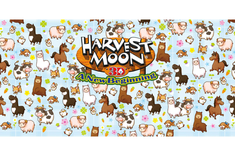 Harvest Moon: A New Beginning | Nintendo 3DS | Games ...