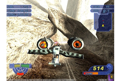 Star Wars Racer Revenge Screenshots, Pictures, Wallpapers ...
