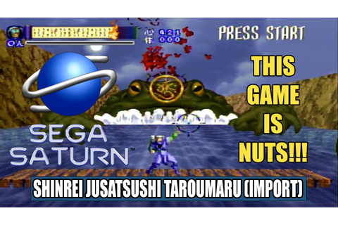 Sega Saturn Shinrei Jusatsushi Taroumaru (import) is NUTS!!