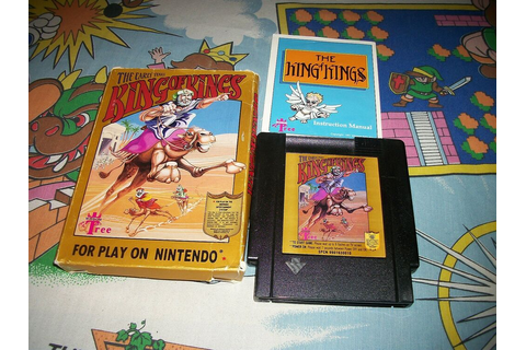 King of Kings the Early Years Complete Variant NES ...