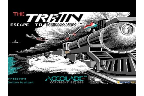 Train Escape to Normandy, The gameplay (PC Game, 1987 ...