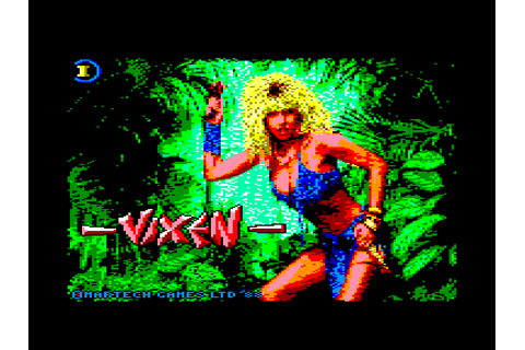 Vixen by Martech on Amstrad CPC (1988)