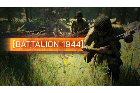 FIRST LOOK! - Battalion 1944 (New WW2 Shooter) - YouTube