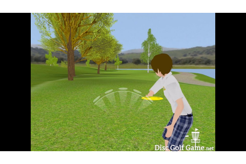 Disc Golf Game gameplay - YouTube