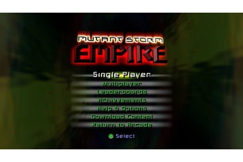 Mutant Storm Empire (2007) by PomPom Games X360 game