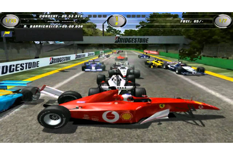F1 2002 crazy gameplay - YouTube