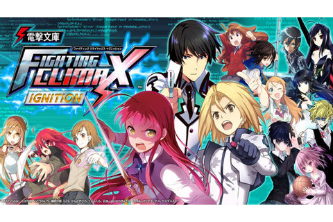 Game Review - Dengeki Bunko: Fighting Climax Ignition ...