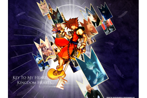 Kingdom Hearts Game Wallpaper 02 | Imagez Only